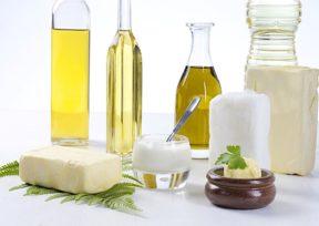 バター様々な植物油脂性の油