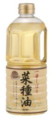 ボーソー一番しぼり菜種油910g