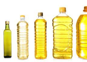 様々な油の容器