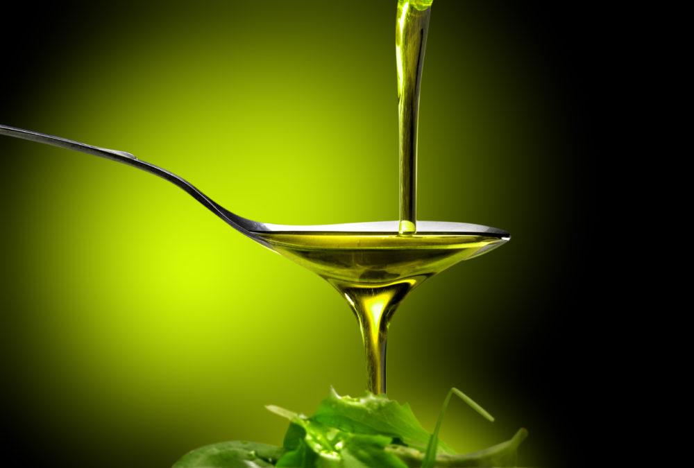 サラダにかける油