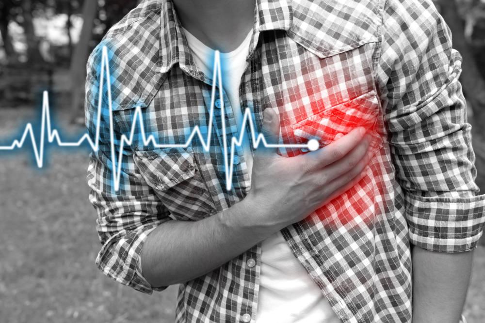 心臓病を発症した人