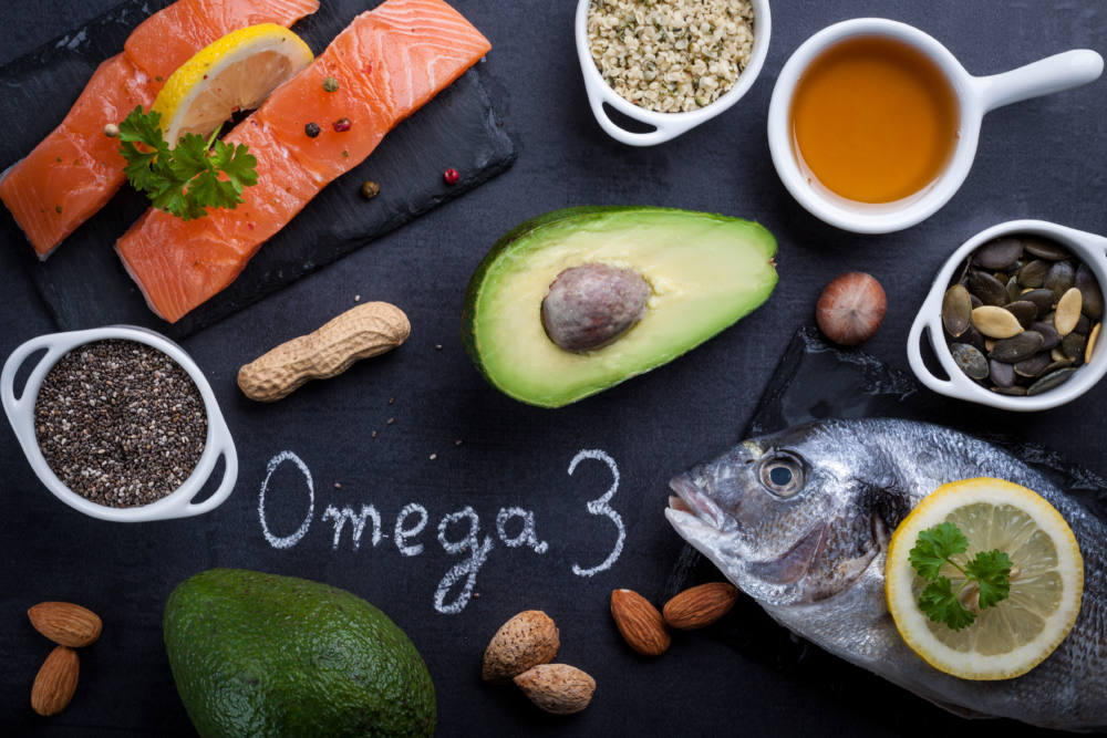 オメガ3脂肪酸の食材