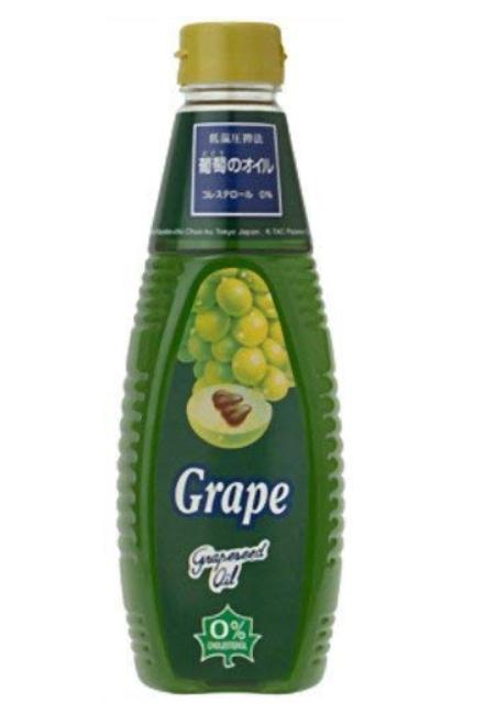 チリ・アンデス産グレープシードオイルのパッケージ