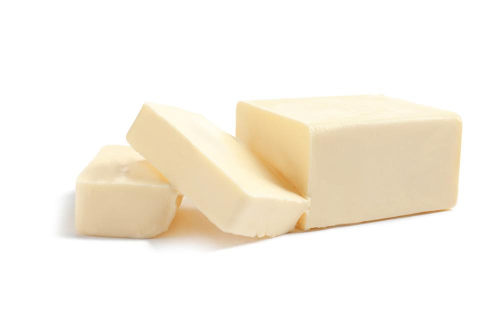 スライスされたバター