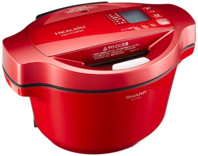 シャープ 自動調理鍋 ヘルシオ ホットクック KN-HT99A-R