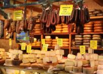 ハムやチーズが売っているお店