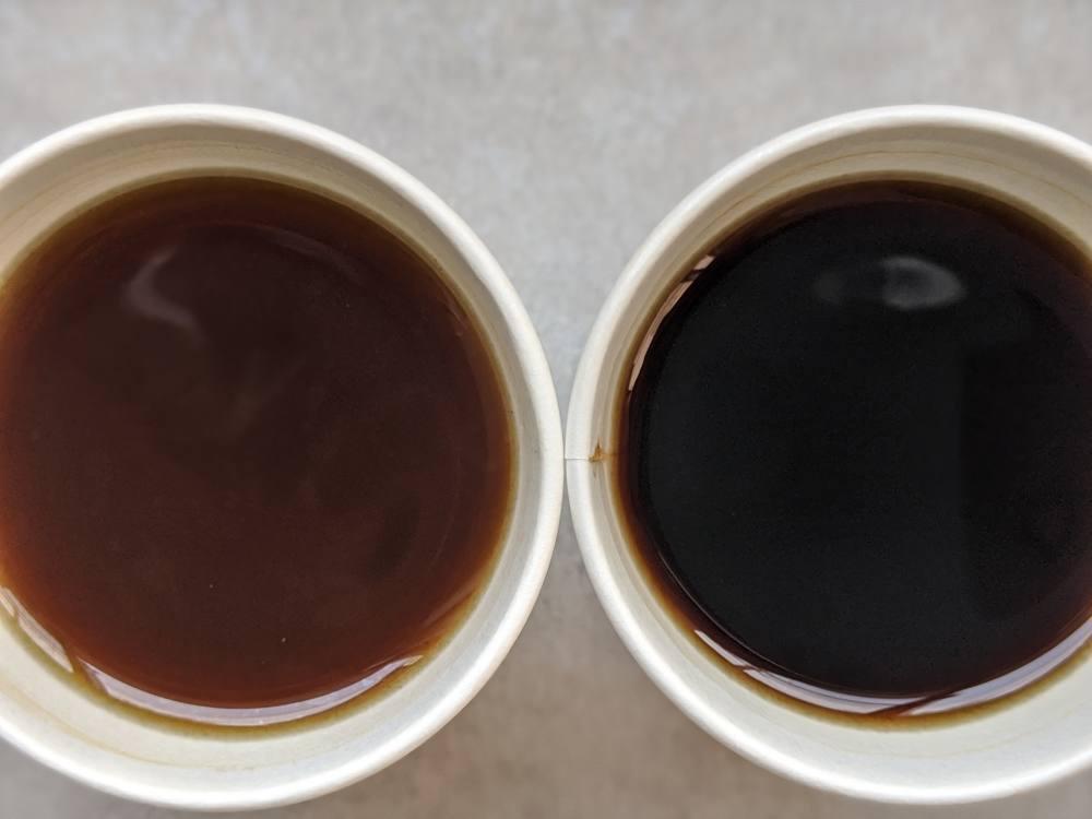 淹れたてコーヒー比較