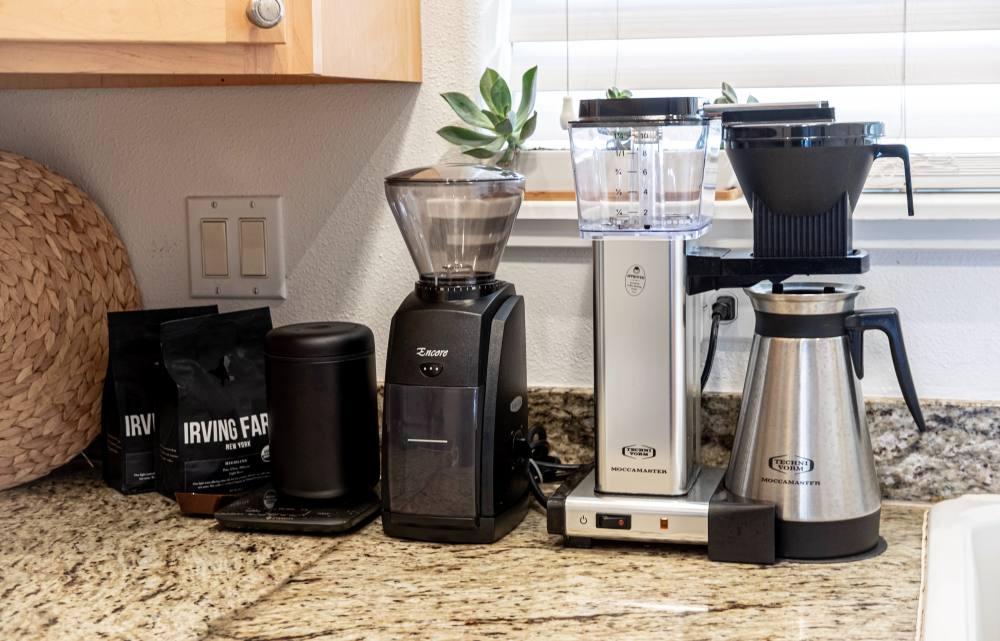 コーヒーを淹れる器具