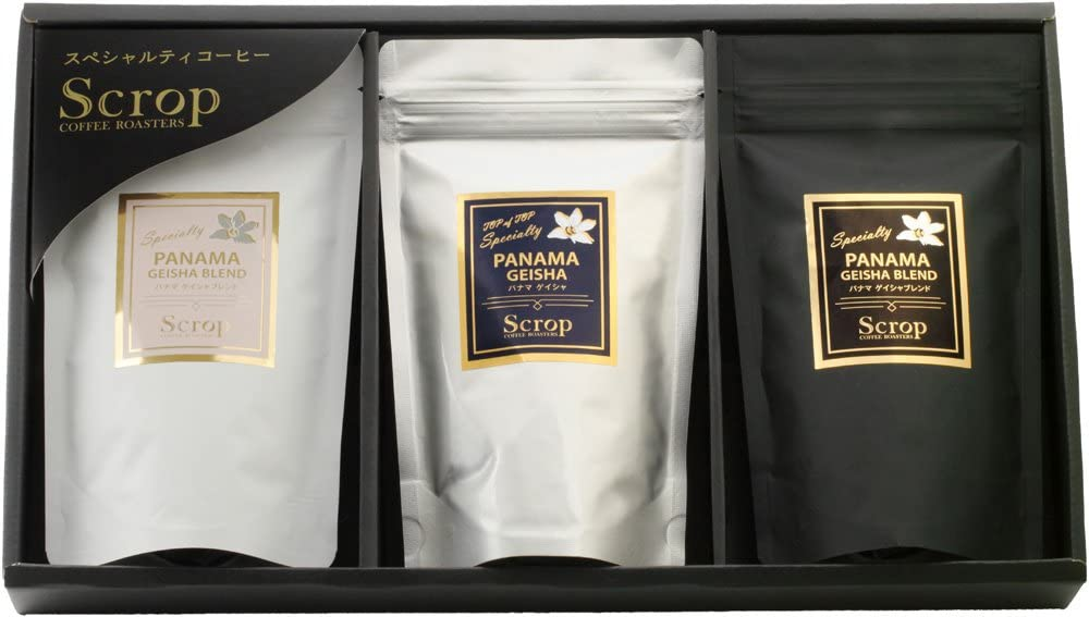 Scrop COFFEE ROASTERS 「ギフトセットGG-B1 パナマゲイシャ」