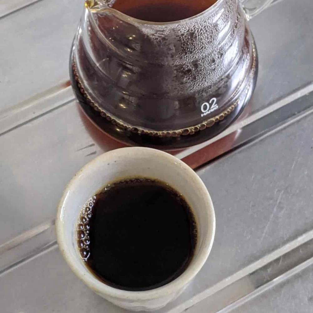 銀座カフェーパウリスタ「森のコーヒー」