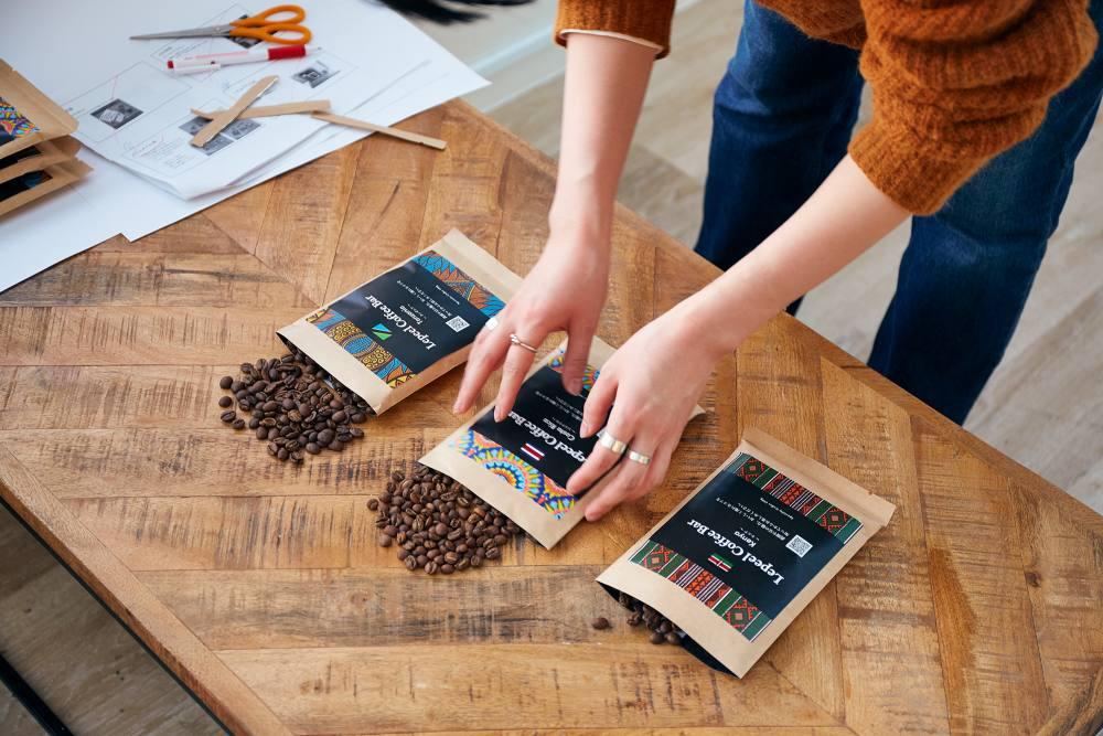 レピールコーヒーバーのコーヒー豆